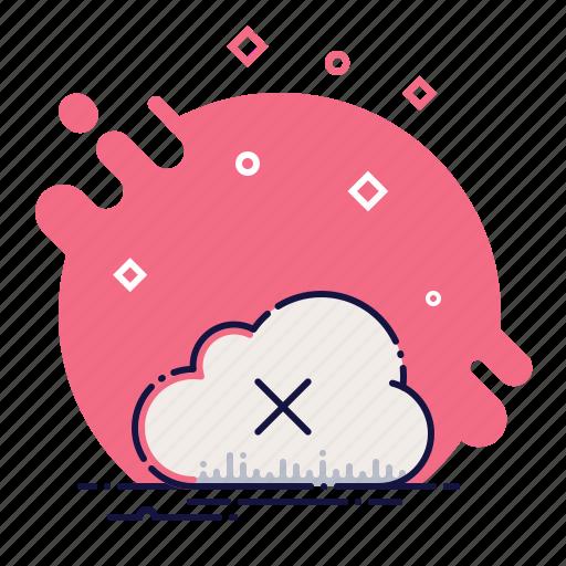 close, cloud, delete, download, error, remove, upload icon