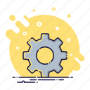 config, gear, options, repair, setting, support, tool icon