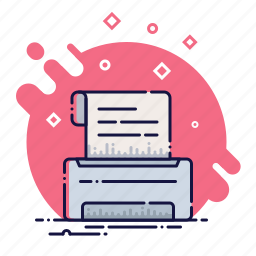 copy, device, document, office, print, printer, tool icon