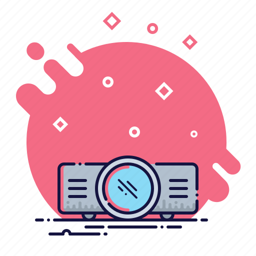 cinema, device, film, movie, presentation, projector, video icon