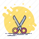 cut, dividing, office, scissors, shears, tool, trim icon