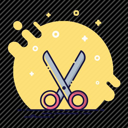 cut, dividing, office, scissors, shears, tool, trim icon