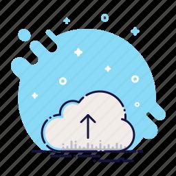 cloud, data, guardar, network, save, storage, upload, web icon