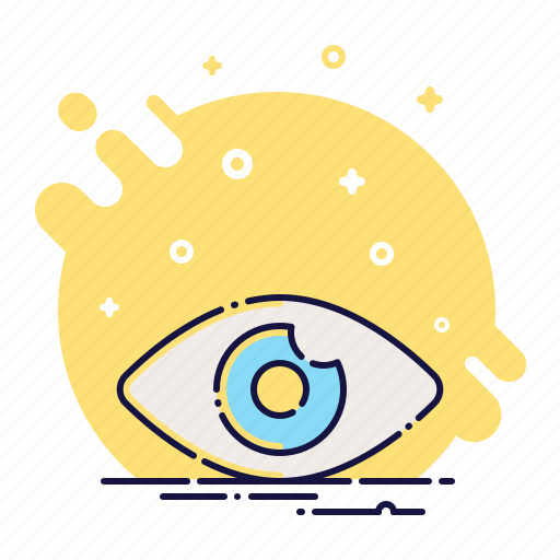 eye, eyeball, lens, look, search, view, vision icon