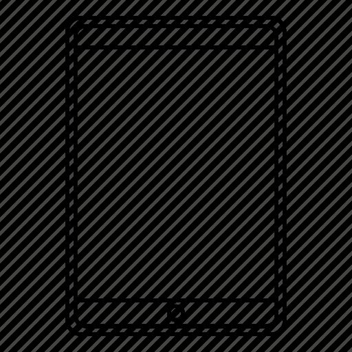 ipad, mobile, pad, responsive, tablet icon