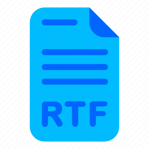 doc, document, rtf, word icon