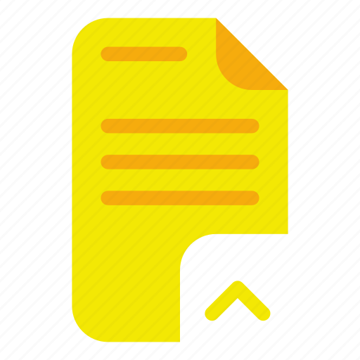 document, import, move icon