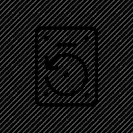 backup, drive, hard, office, synchronizing icon