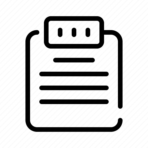 business, document, file, finance, marketing, memo, office icon