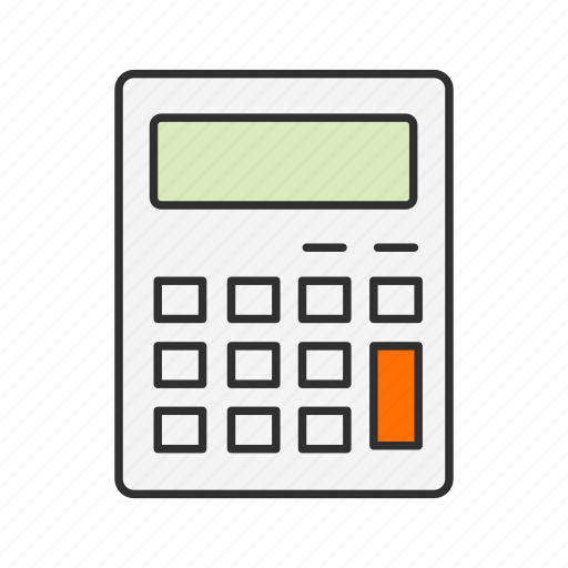 Calcu, calculator, mathematics, personal digital assistant icon - Download on Iconfinder