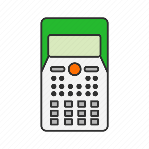 calcu, calculator, mathematics, personal digital assistant icon