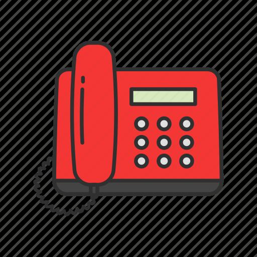 call, fax machine, phone, telephone icon