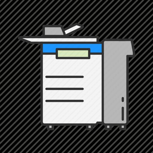 photo copy, photocopier, printer, scanner icon