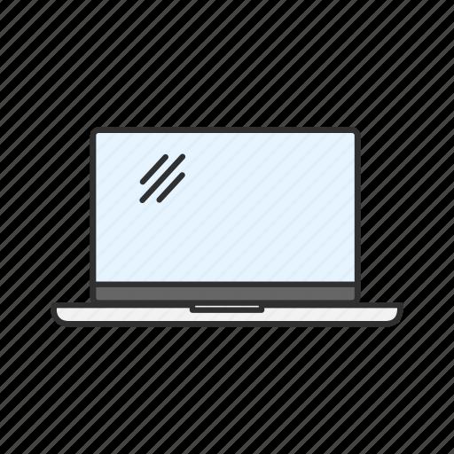 computer, monitor, screen, tv icon