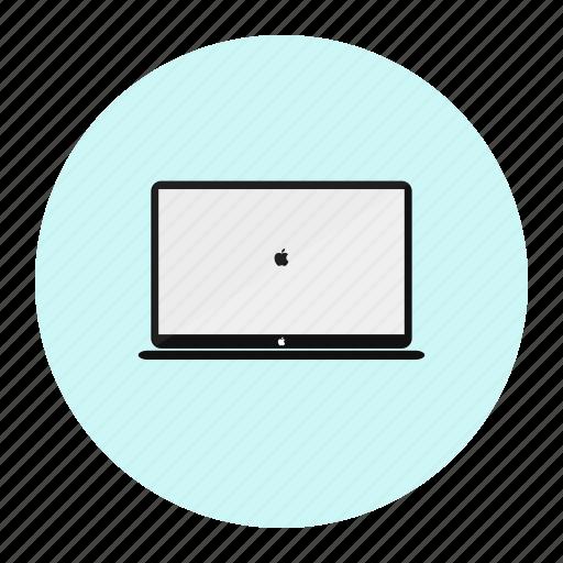 laptop, mac, maclap icon