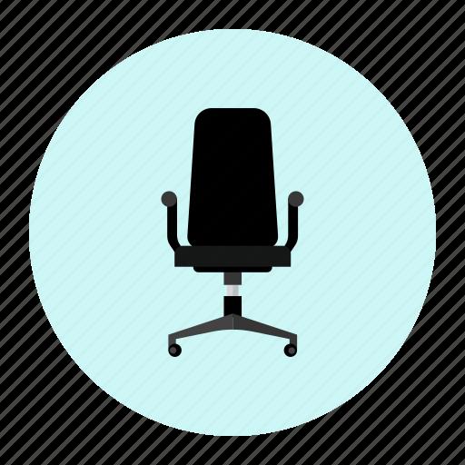 chair, computerchair, officechair, rollchair icon