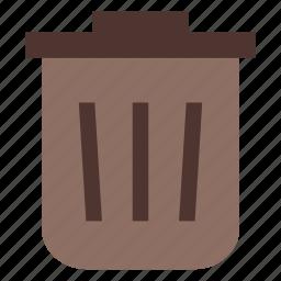 bin, business, office icon