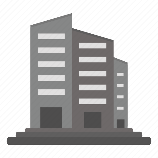 buildings, business, office icon