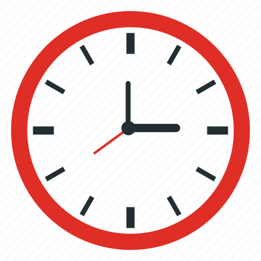 business, clock, office icon