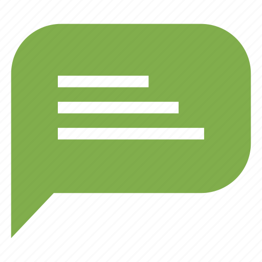 business, conversation, message, office icon