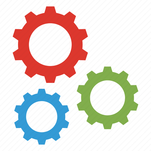 business, gear, office icon