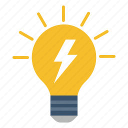 bulb, business, idea, office icon