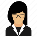 manager, office, profile, user icon