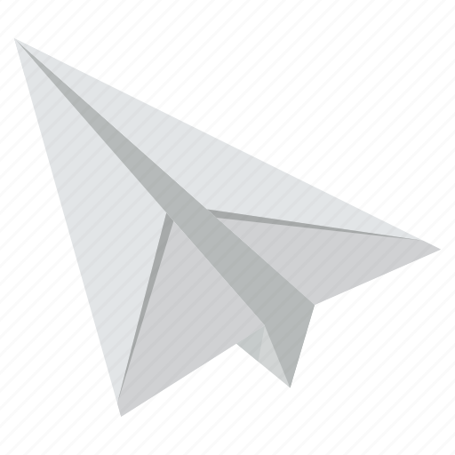 business, office, paper, plane icon