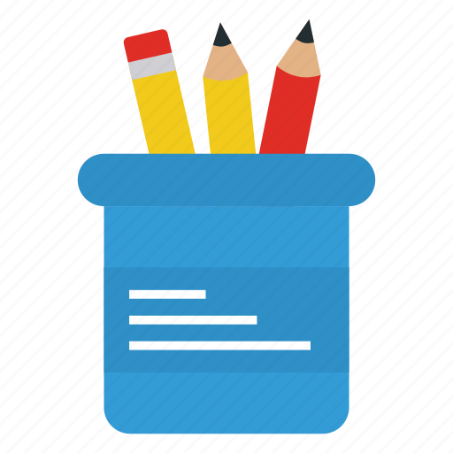 box, business, office, pencil icon