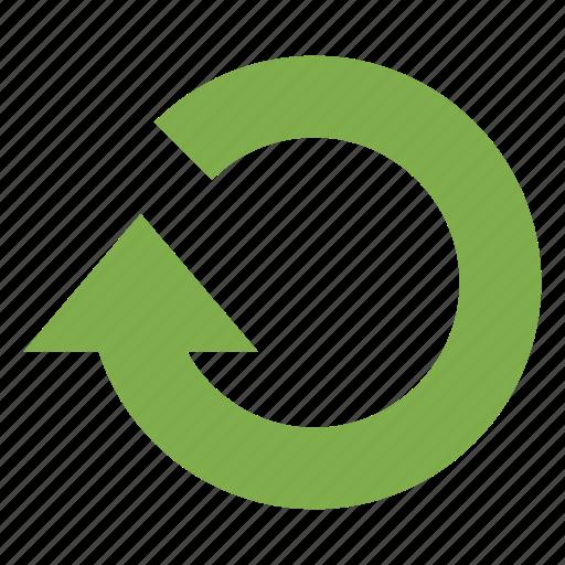 arrow, refresh, reload, restart icon