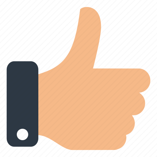 business, office, thumbs, up icon
