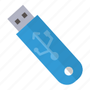 business, flash, office, usb icon