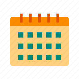 calendar, date, day, january, march, new, year icon