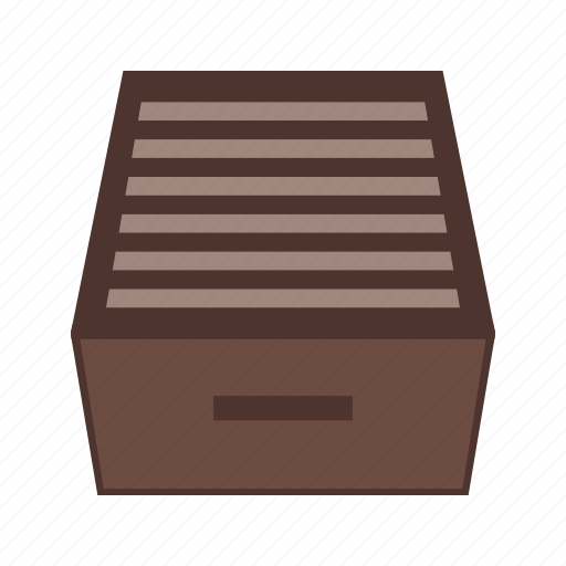 cabinet, drawer, file, filing, furniture, office, storage icon