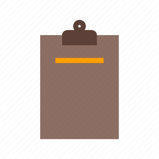 board, business, clipboard, document, note, office, paper icon