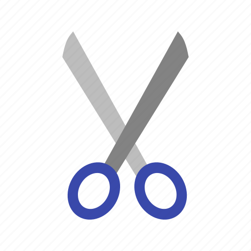 cut, inauguration, object, ribbon, scissors, steel, tool icon
