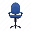 chair, equipment, furniture, interior, office, rollers icon