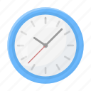 clock, equipment, interior, office, style, time, wall icon