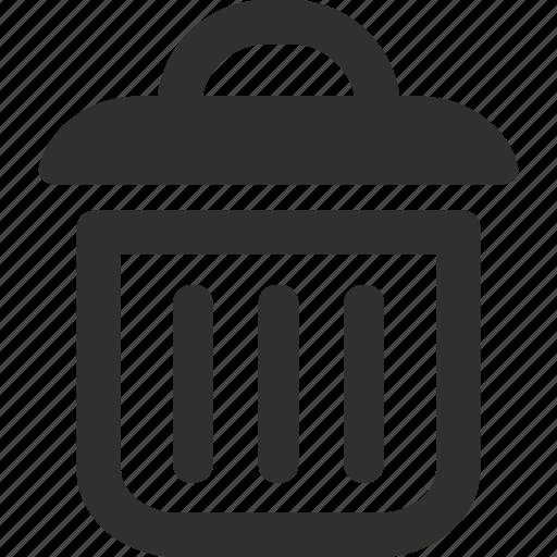delete, garbage, recycle, recycle bin, remove, trash icon
