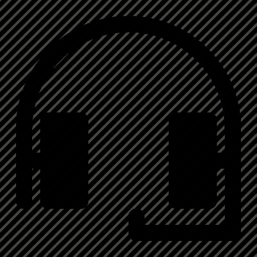 computer, headphone, headset, music, virtual icon
