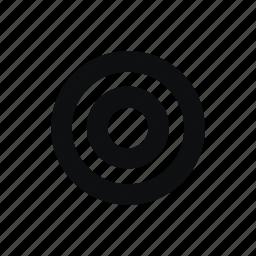 aim, target, targeting icon