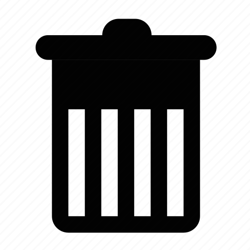 basket, bin, cart, delete, empty, recycle, remove, trash icon