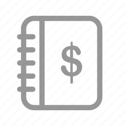 accounting, business, money icon