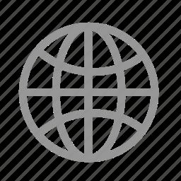 global, internet, online, world icon