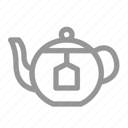 drink, tea, teapot, water icon