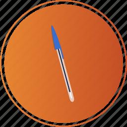 blue, bluepen, boli, edit, pen, stift, write icon
