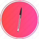 bic, boli, edit, pen, stift, write icon