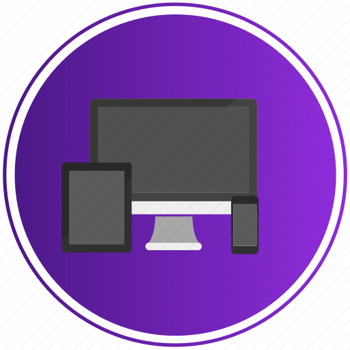 apple, deskopt, device, devices, phone, responsive, tablet icon