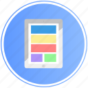 grid, ipad, responsive, tablet, technology icon