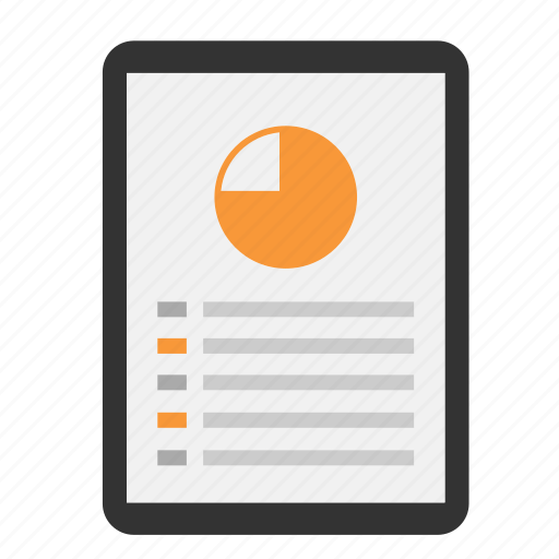 analytics, chart, diagram, finance, graph, report, statistics icon